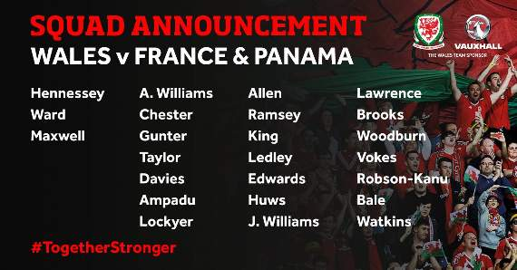 Maxwell Called Up To Wales Squad
