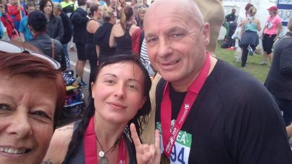 Bridgend father and daughter taking on the London Marathon