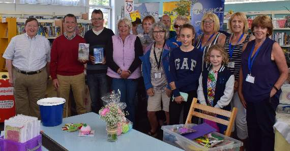 Rhoose Library open day
