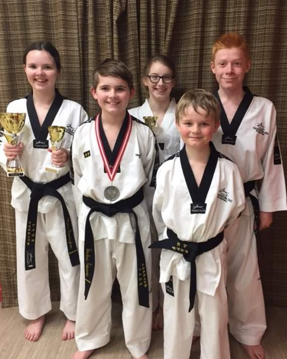 JSTKD students impress at English Championships
