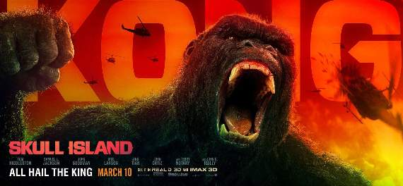 Take a trip to Skull Island in a truly outstanding blockbuster! Screen Talk with Gareth Jamieson