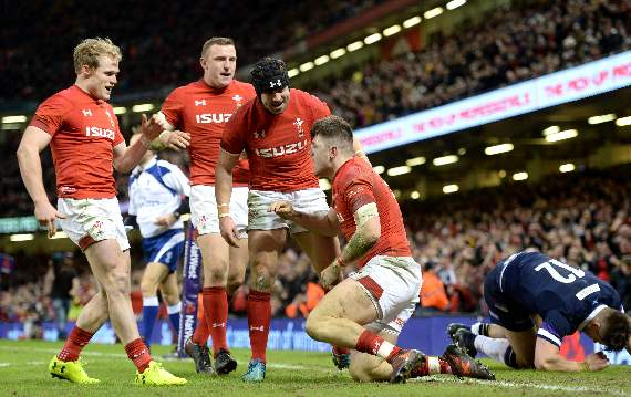 Scotland suffer crushing defeat to Wales in Six Nations